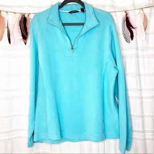 Tommy Bahama | Sky Blue Terry Pullover